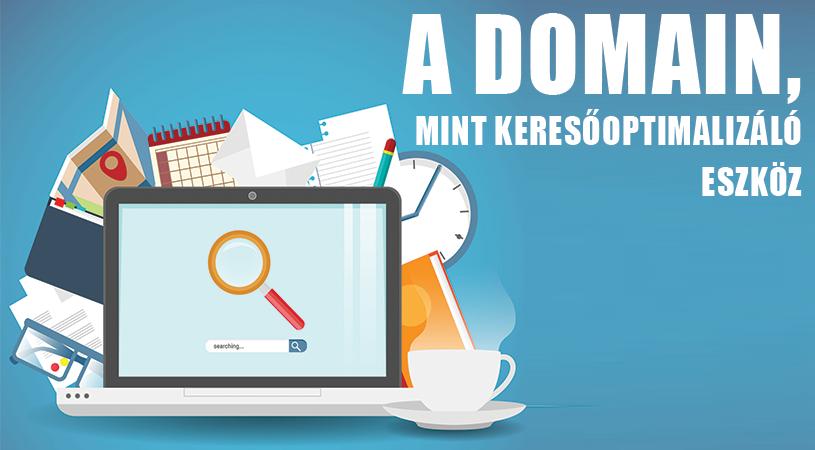 A Domain, mint keresőoptimalizáló eszköz