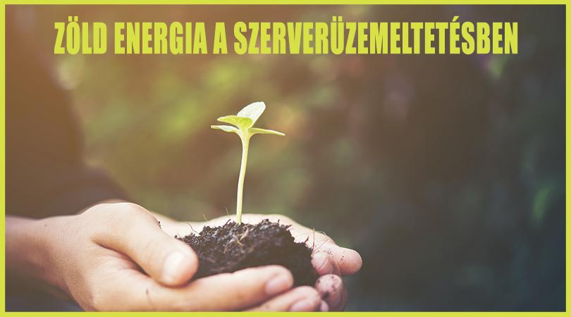 Zöld energia a szerverüzemeltetésben