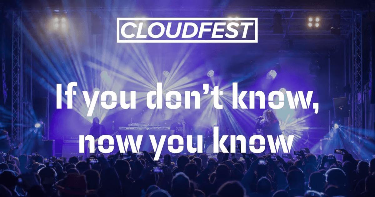 Cloudfest 2k19